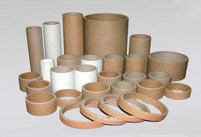 Cutting machine tube cardboard core
