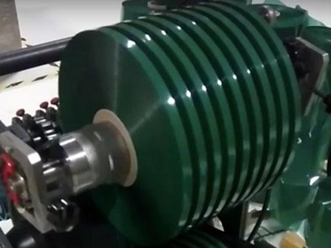 Mașină de tăiat film, folie, hârtie – Mini Slitter Dream Flex Mini