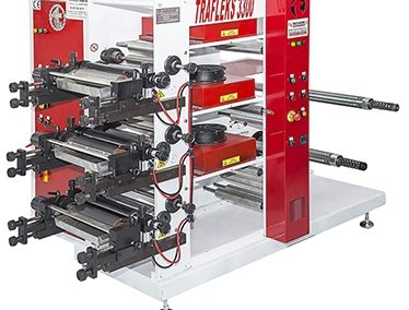 Flexo Printing Machine with 2 or 3 colors