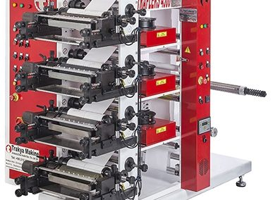 Flexo Printing Machine with 4 colors