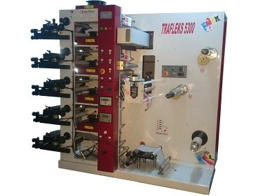 Flexo Printing Machine with 5 colors