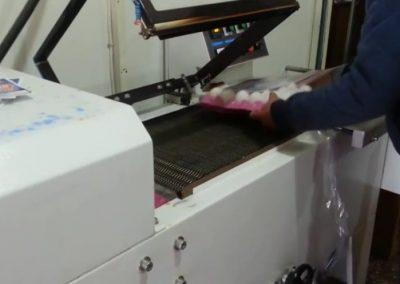 Maşină de ambalat semiautomată cu tunel termocontracţie K5L
