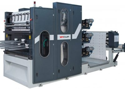 YM / BKM-1000 Paper Cup Print And Punch Machine